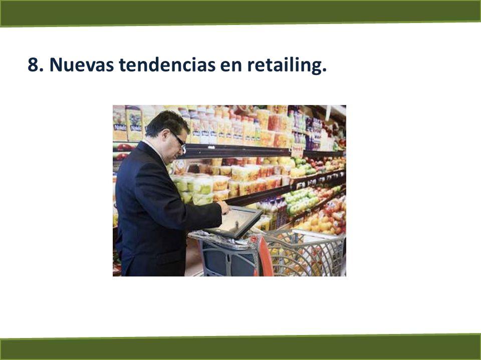 8. Nuevas tendencias en retailing.