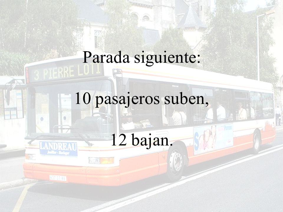 El autobus prosigue...