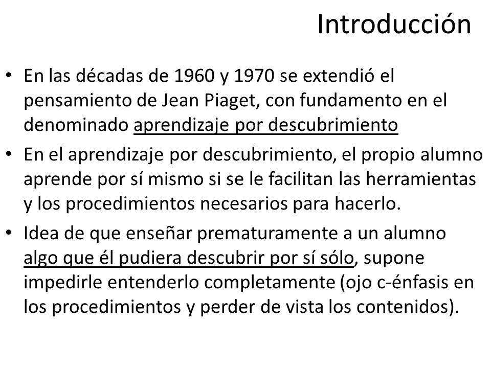 Introducción Enseñanza de las ciencias Criterio predominante: sólo atento a la transmisión de conocimientos.
