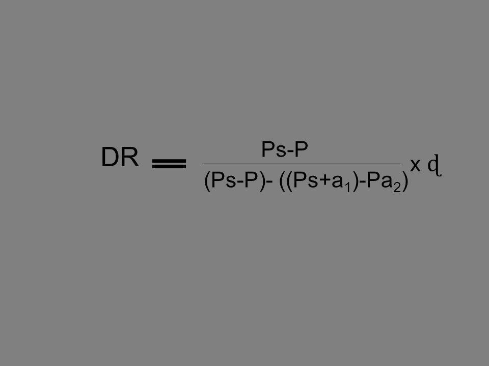 Ps-P (Ps-P)- ((Ps+a 1 )-Pa 2 ) DR x ɖ