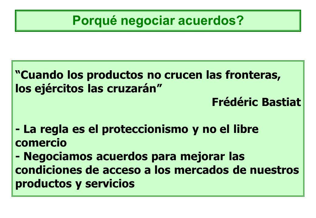 Cuando los productos no crucen las fronteras, los ejércitos las cruzarán Frédéric Bastiat - La regla es el proteccionismo y no el libre comercio - Neg