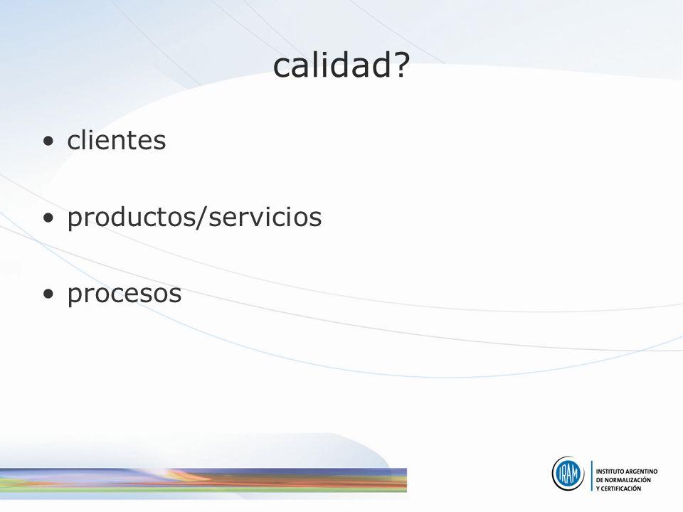 ISO 9001 modelo de organización para satisfacer a los clientes basada en: –enfoque por procesos –mejora continua –compromiso de todos los niveles