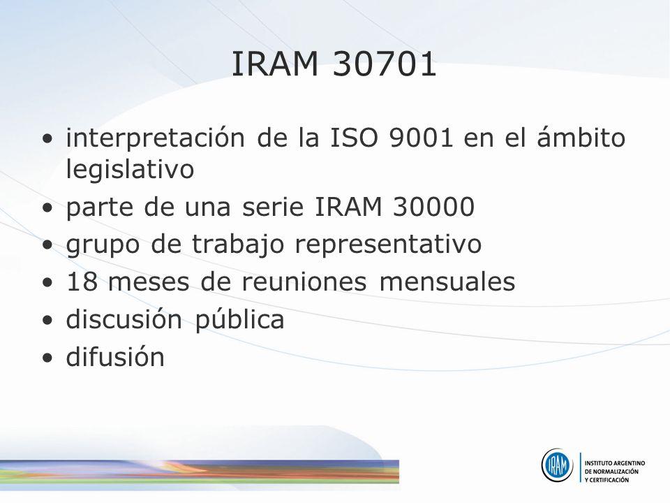 temas difíciles clientes y su satisfacción producto no conformidad qué organización puede aplicar la 30701?