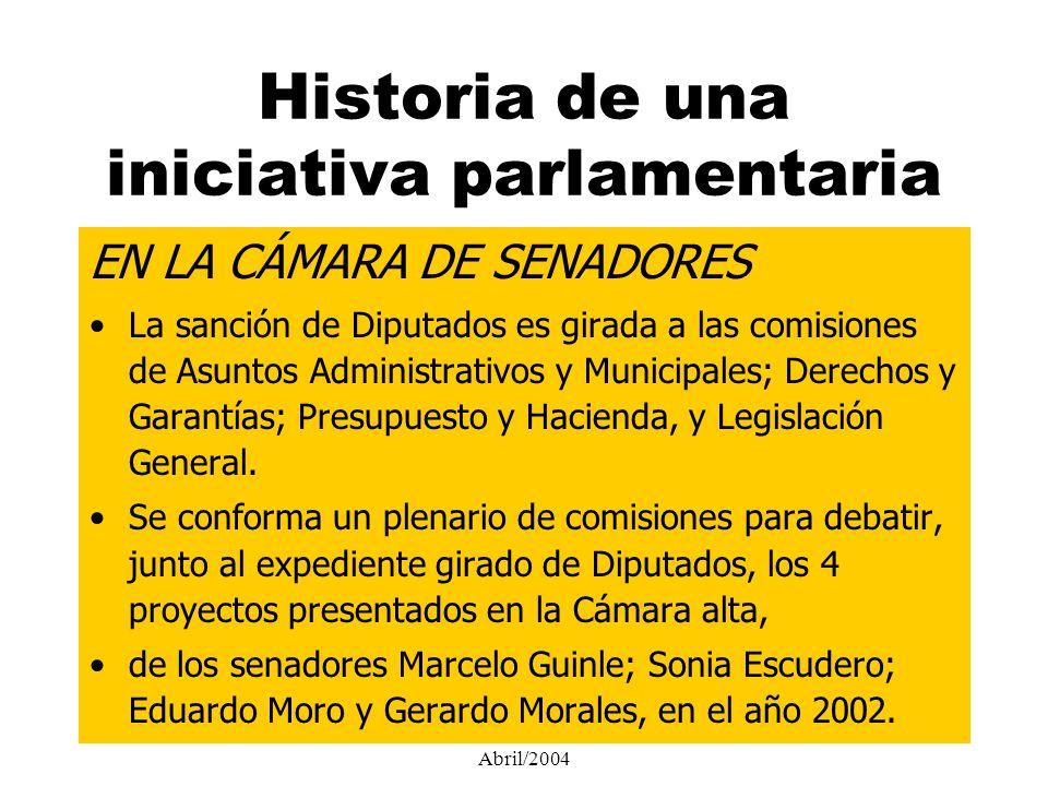 Senador Nacional Gerardo Morales - Abril/2004 DEFINICIONES 1.