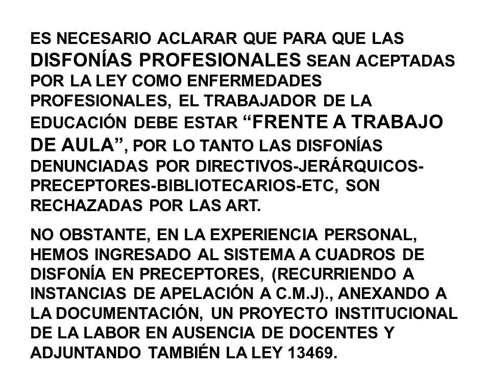 APELACIÓN A COMISIONES MÉDICAS -EL TRABAJADOR DAMNIFICADO TIENE DERECHO A REALIZAR APELACIÓN A INSTANCIAS QUE ESTA LEY INDICA, A SABER: 1.SI NO ESTOY DE ACUERDO CON LA A.R.T., APELO A LA COMISIÓN MÉDICA JURIDICCIONAL (DEPENDIENTE DE LA SUPERINTENDENCIA DE RIESGOS DEL TRABAJO) CORRESPONDIENTE A MI DOMICILIO.