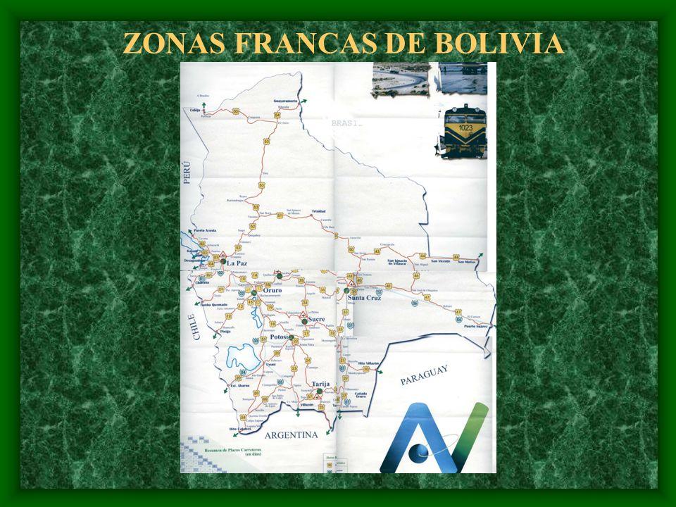 ZONAS FRANCAS DE BOLIVIA