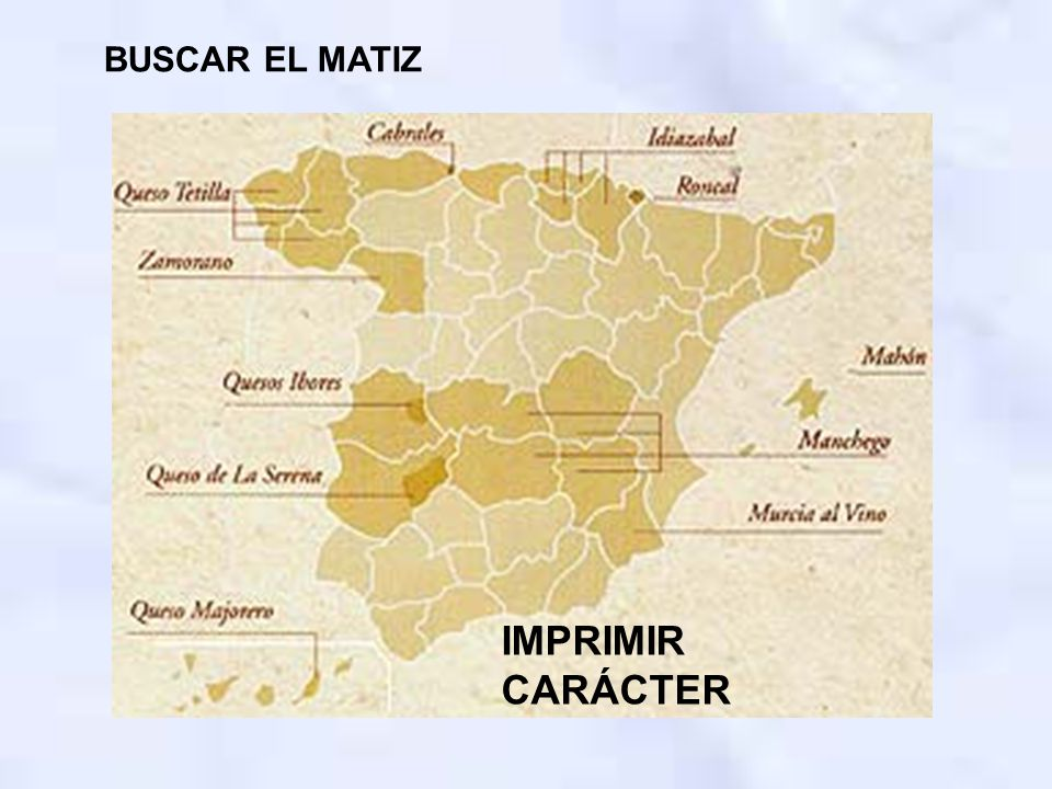 BUSCAR EL MATIZ IMPRIMIR CARÁCTER
