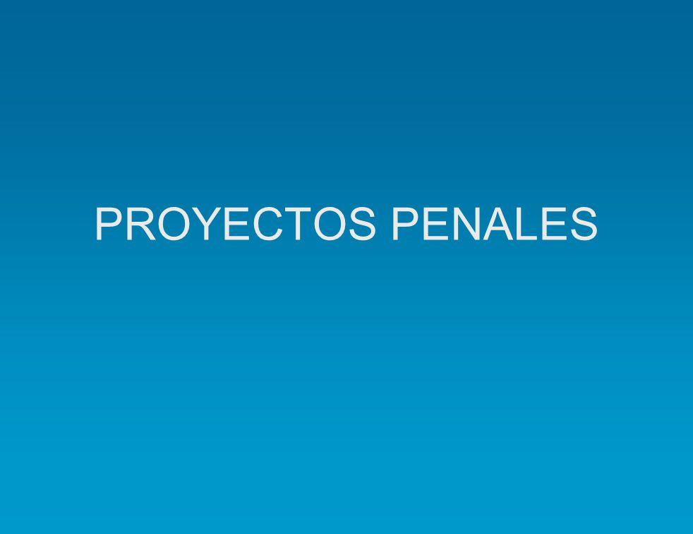 PROYECTOS PENALES
