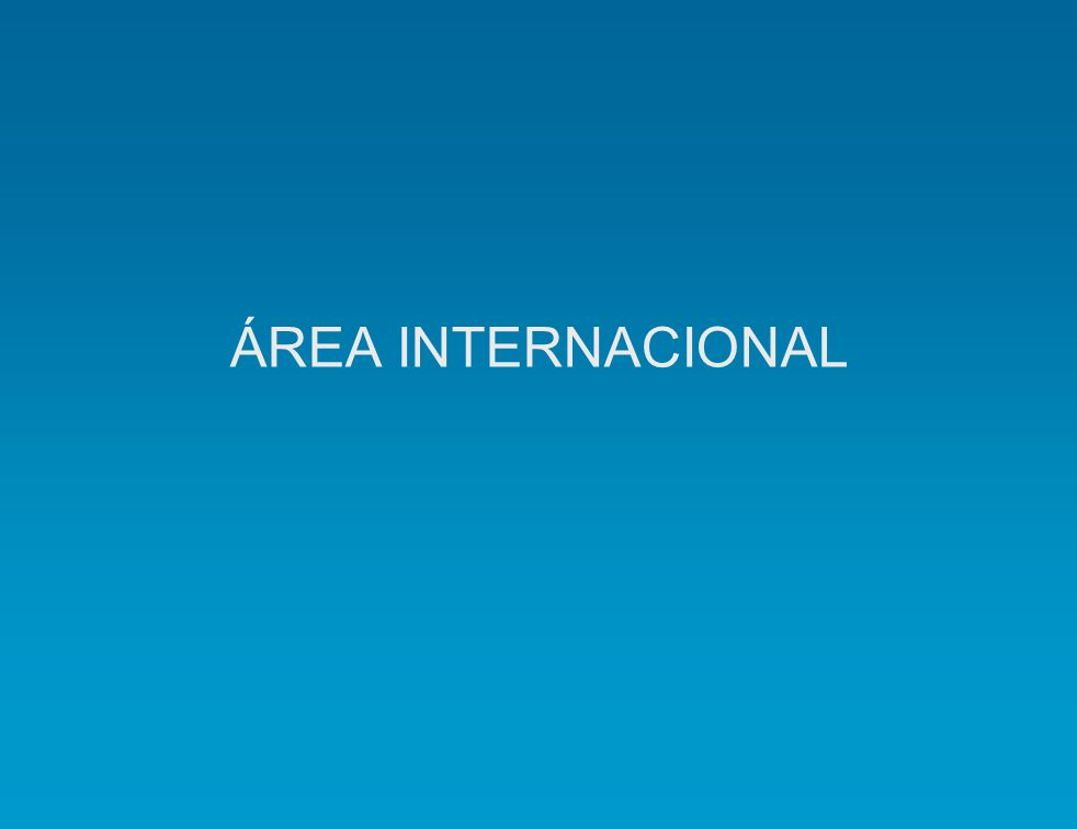 ÁREA INTERNACIONAL