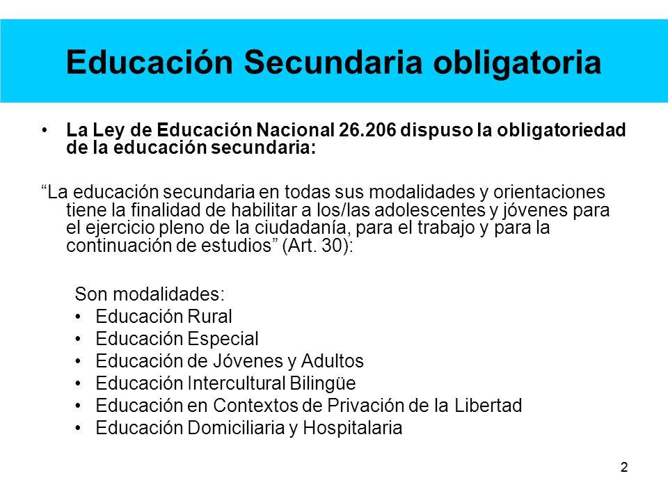13 Plan de Mejora Institucional: ejes -Trayectorias escolares: Incorporación gradual de adolescentes y jóvenes que están fuera de la escuela.