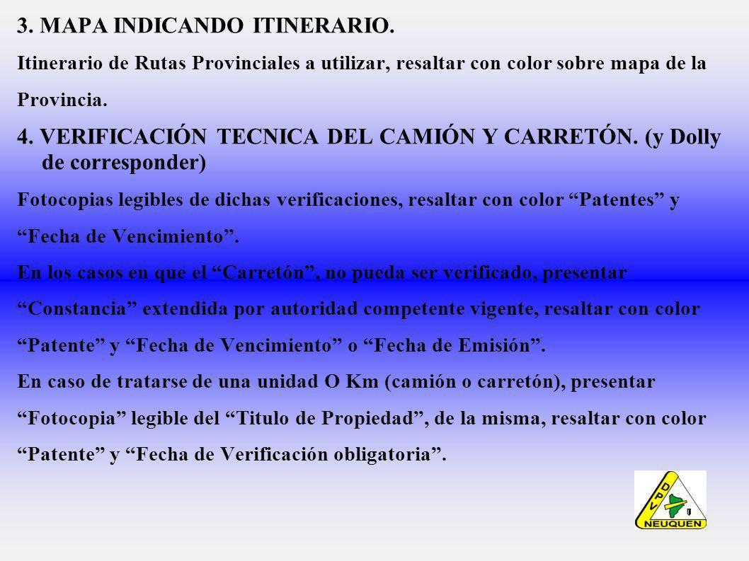 3.MAPA INDICANDO ITINERARIO.