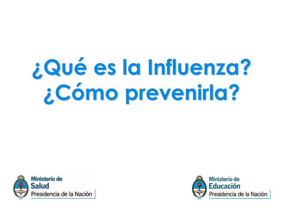 ¿Qué es la Influenza? ¿Cómo prevenirla?
