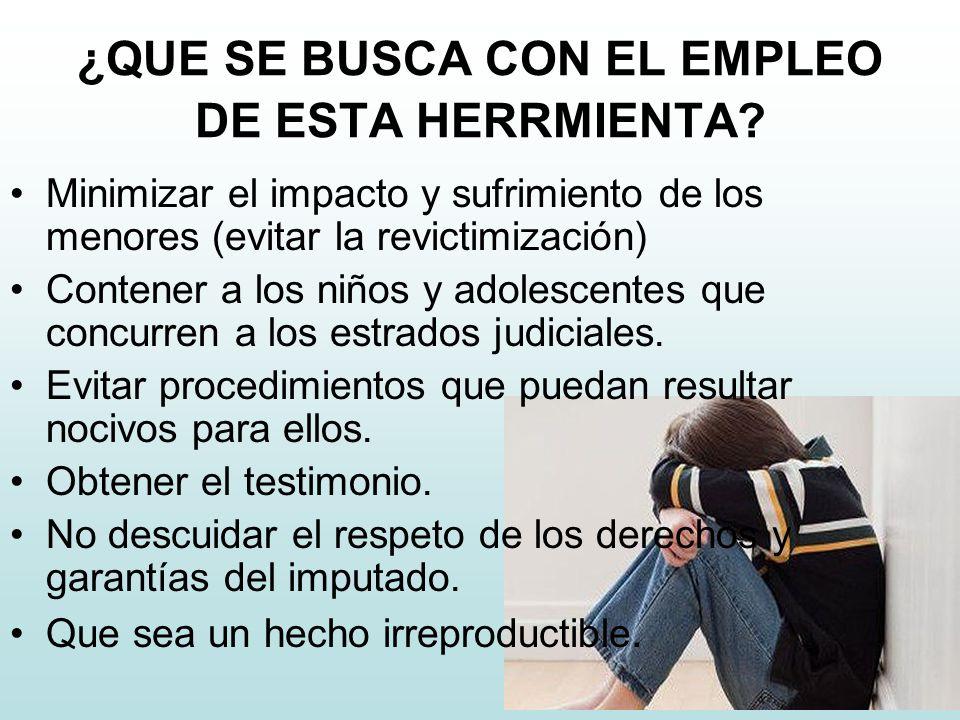 ¿QUE SE BUSCA CON EL EMPLEO DE ESTA HERRMIENTA.