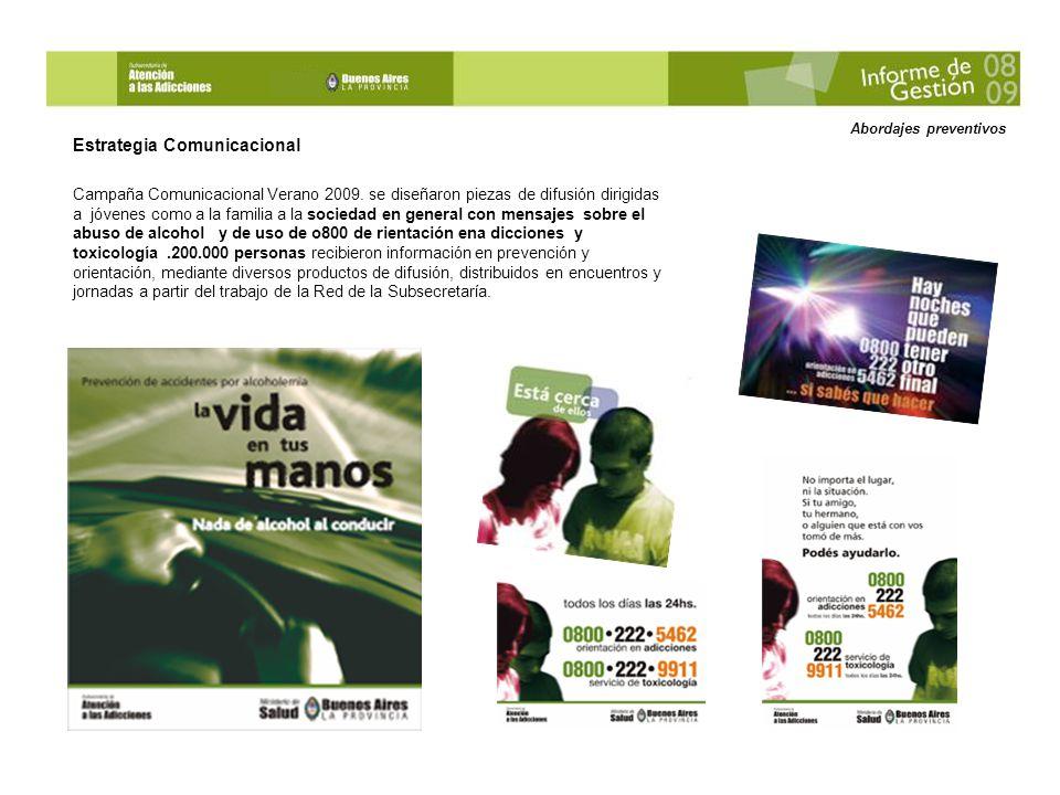 Abordajes preventivos – Stand - Recitales Provinciales Buenos Aires