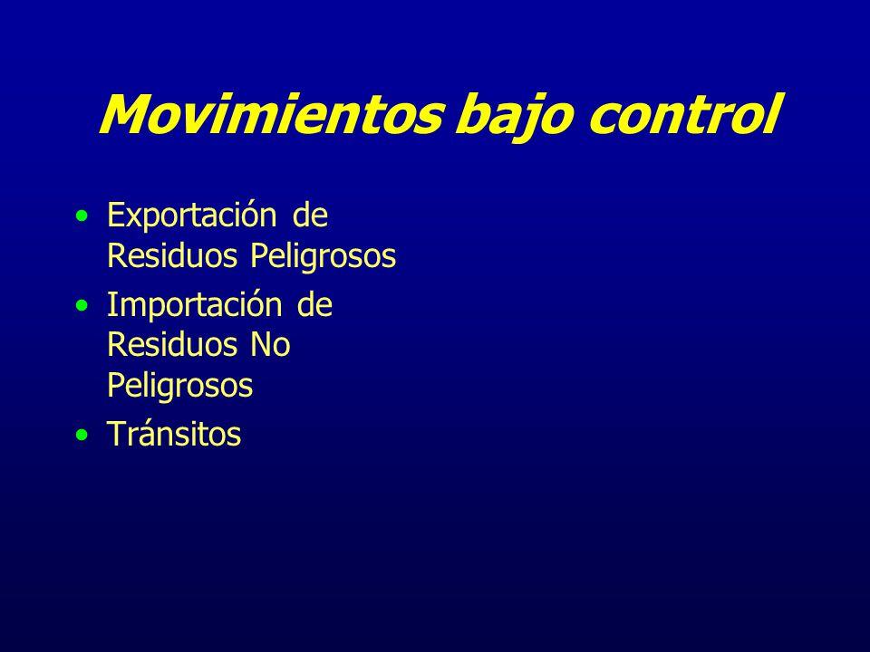 Movimientos Transfronterizos Mecanismos Empleados