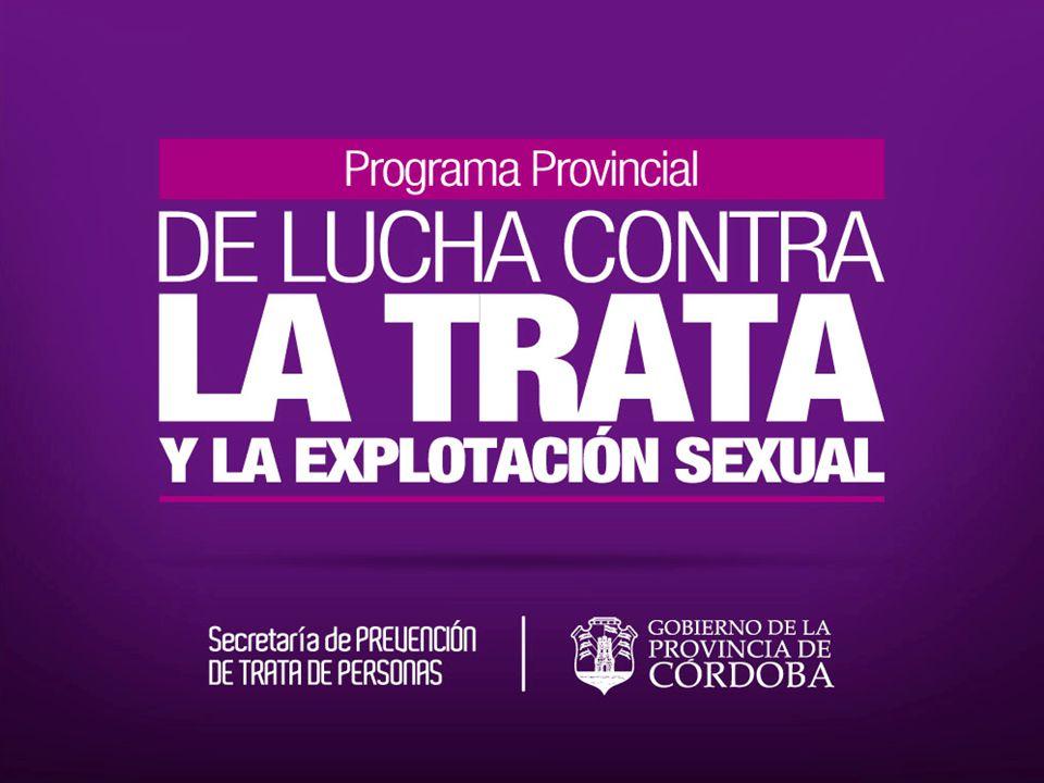 El Gobierno de la Provincia de Córdoba presenta un programa basado en una fuerte Política de Estado, para actuar en contra de este gran flagelo.