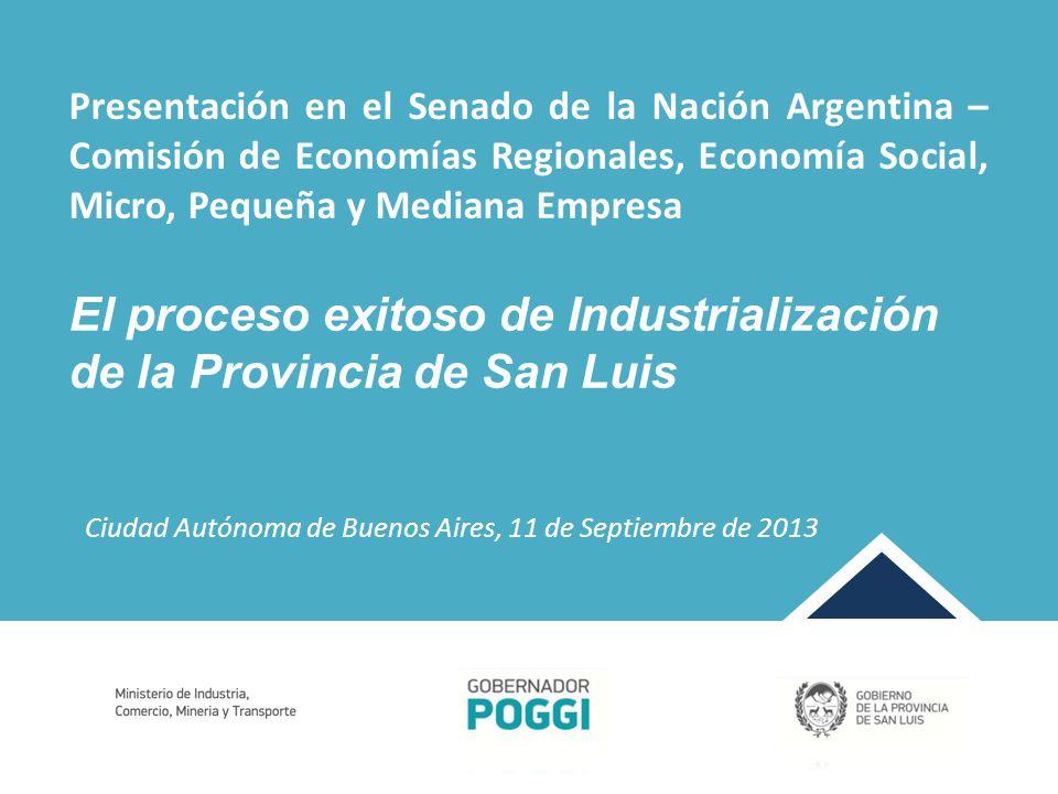 Vinculaciones con diferentes países en los cuales se visualizan oportunidades de colocar los productos fabricados en San Luis.