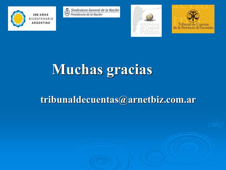 Muchas gracias tribunaldecuentas@arnetbiz.com.ar Muchas gracias tribunaldecuentas@arnetbiz.com.ar