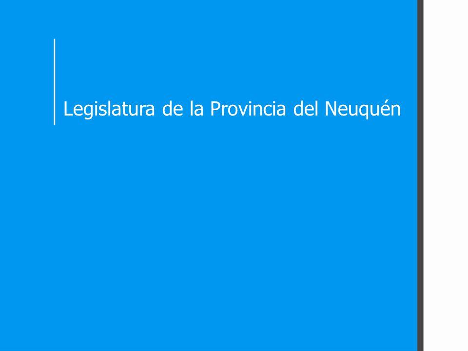 Legislatura de la Provincia del Neuquén