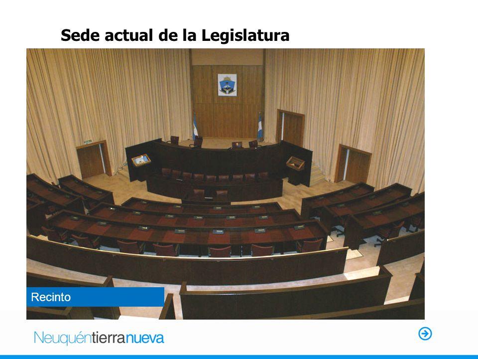 Sede actual de la Legislatura Recinto