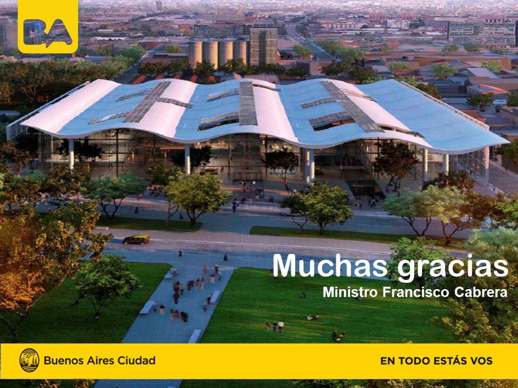 Muchas gracias Ministro Francisco Cabrera
