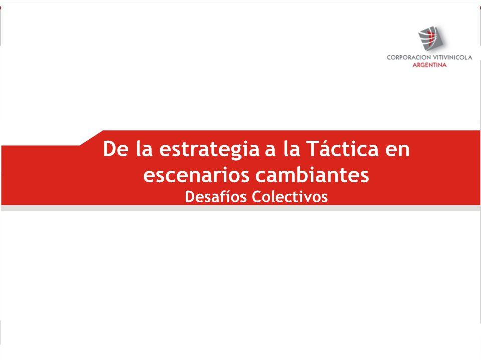 De la estrategia a la Táctica en escenarios cambiantes Desafíos Colectivos