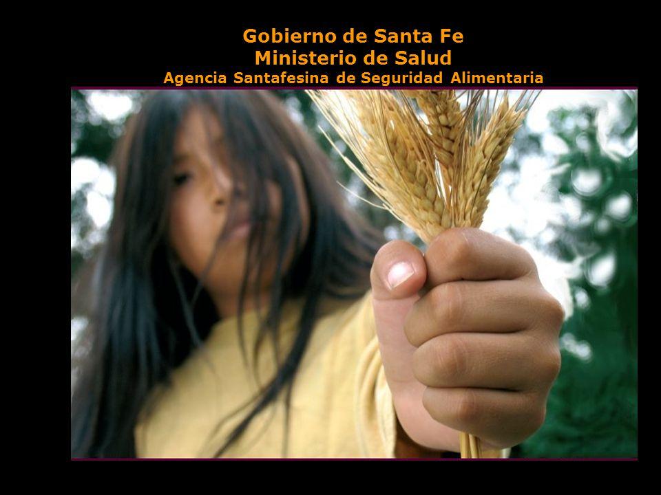 Gobierno de Santa Fe Ministerio de Salud Agencia Santafesina de Seguridad Alimentaria