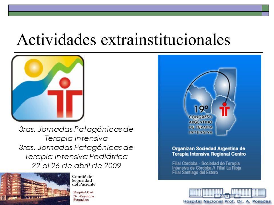 3ras. Jornadas Patagónicas de Terapia Intensiva 3ras. Jornadas Patagónicas de Terapia Intensiva Pediátrica 22 al 26 de abril de 2009