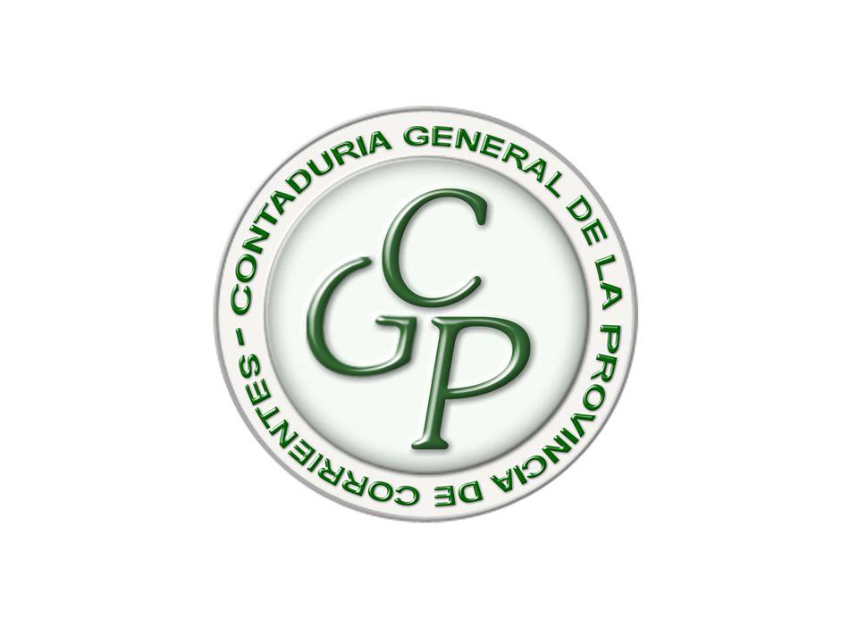 CONTADURIA GENERAL DE LA PROVINCIA (Artículos 171 al 174 de la Constitución Provincial) FUNCIONES PRINCIPALES CONTABILIDAD GUBERNAMENTAL Título V de la Ley Nº 5.571 CONTROL INTERNO Título VI de la Ley Nº 5.571