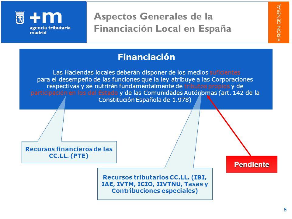 55 Financiación Las Haciendas locales deberán disponer de los medios suficientes para el desempeño de las funciones que la ley atribuye a las Corporac