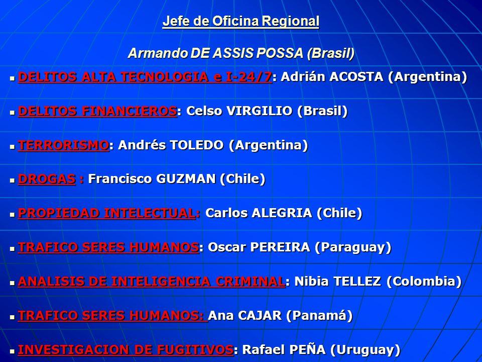 10 JURISDICCION DE LA OFICINA REGIONAL PARA AMERICA DEL SUR DE LA OIPC - INTERPOL DE LA OIPC - INTERPOL 12 PAISES PARAMARIBO CARACAS GEORGETOWN BOGOTA QUITO LIMA LA PAZ BRASILIA ASUNCION SANTIAGOMONTEVIDEO BUENOS AIRES OFICINA REGIONAL ARGENTINA ARGENTINA BOLIVIA BOLIVIA BRASIL BRASIL COLOMBIA COLOMBIA CHILE CHILE ECUADOR ECUADOR GUYANA GUYANA PARAGUAY PARAGUAY PERU PERU SURINAM SURINAM URUGUAY URUGUAY VENEZUELA VENEZUELA