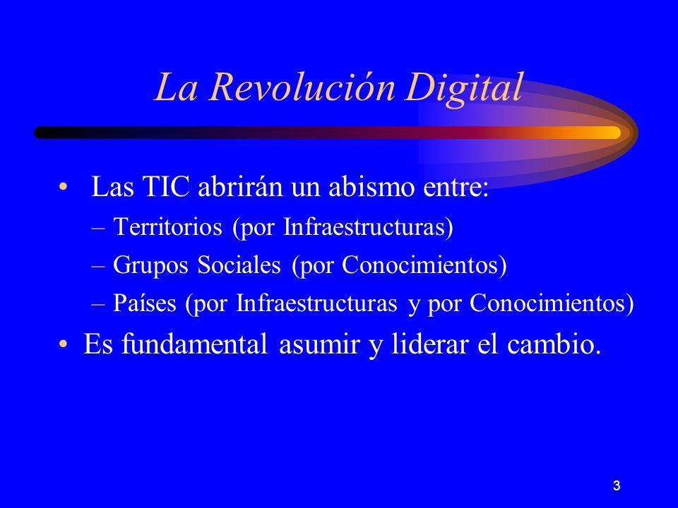 24 La Revolución Digital Towards de Information Society.