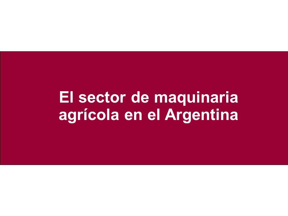 Características generales del sector a nivel local Características generales del sector en Argentina El mismo está compuesto por alrededor de 650 empresas pyme, incluyendo dentro de este grupo a los agropartistas (Baruj et al, 2005).