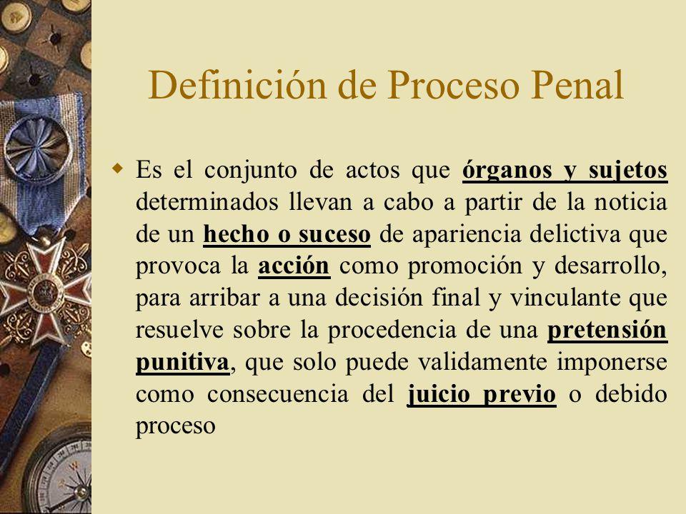 definicion de juicio de procedencia:
