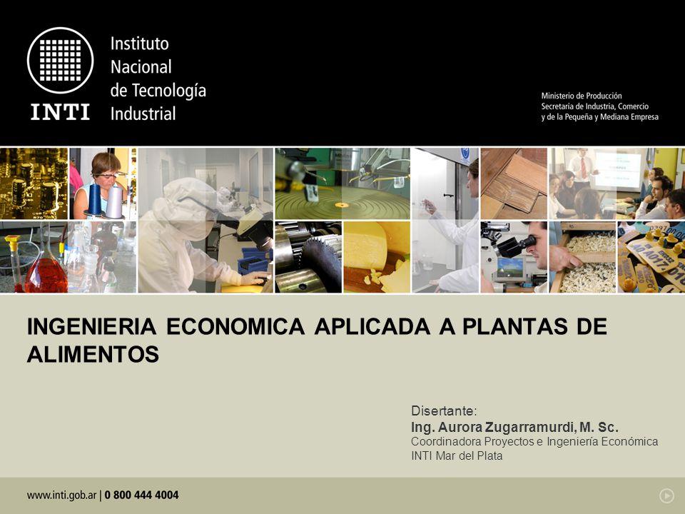 Libro de Ingeniería Económica aplicada a plantas de alimentos 0 2 4 6 8 10 12 00,20,40,60,81 Calidad de la materia prima Costo de producción $/kg brócoli Pescados magros Pescados grasos