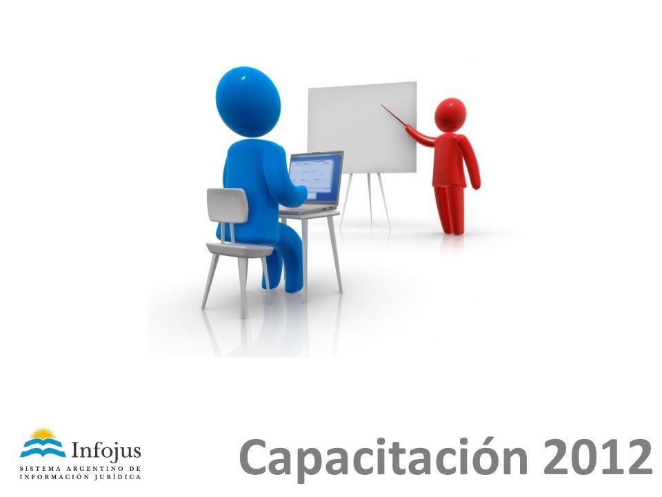Capacitación 2012