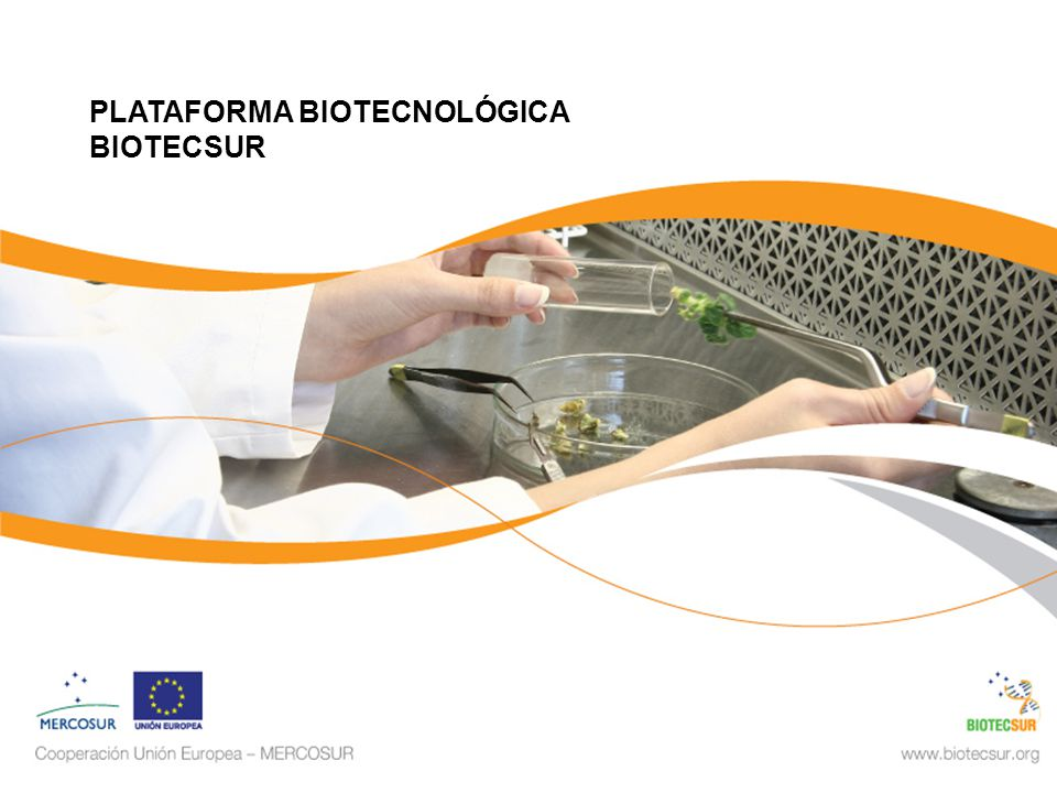 PLATAFORMA BIOTECNOLÓGICA BIOTECSUR