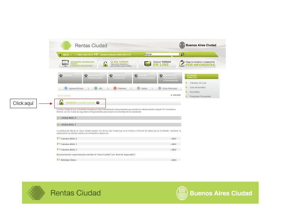 En caso de poseer sucursales ingresar el domicilio de la misma haciendo click aquí Hacer click aquí