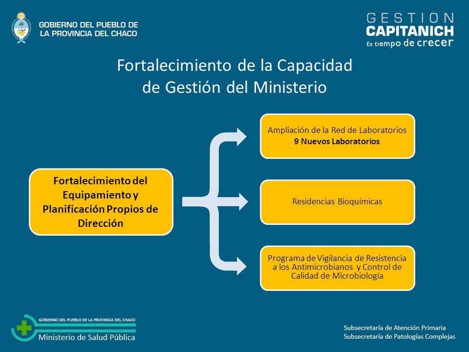 PERRANDO: Lograr la inserción definitiva como centro de alta complejidad.