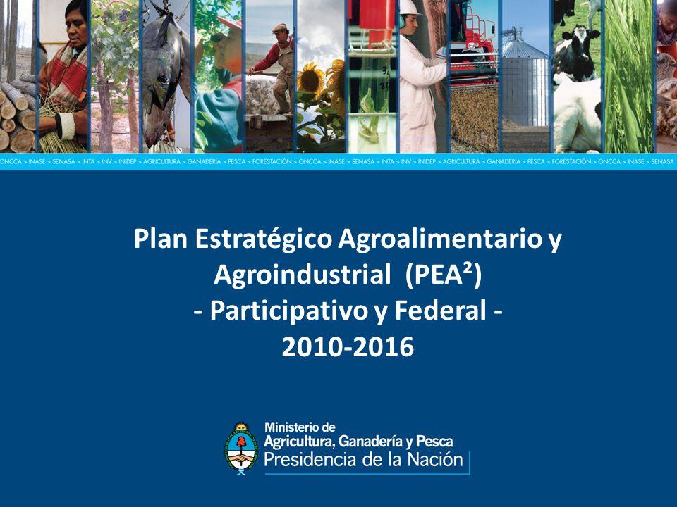 Plan Estratégico Agroalimentario y Agroindustrial (PEA²) - Participativo y Federal - 2010-2016