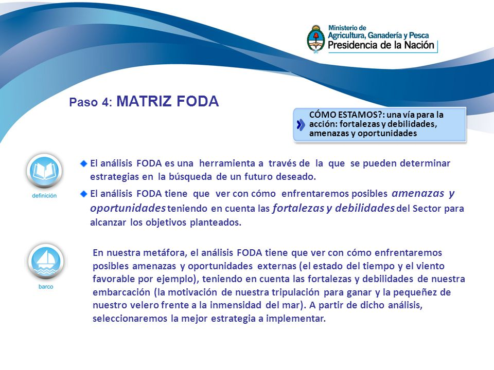 El análisis FODA es una herramienta a través de la que se pueden determinar estrategias en la búsqueda de un futuro deseado. El análisis FODA tiene qu