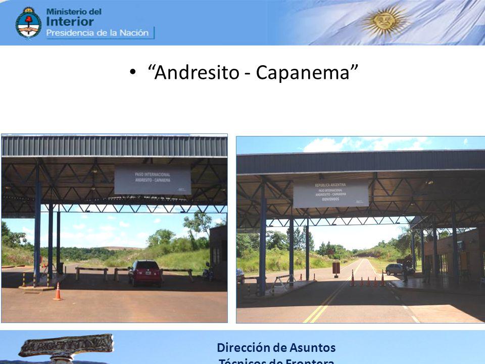 Andresito - Capanema Dirección de Asuntos Técnicos de Frontera