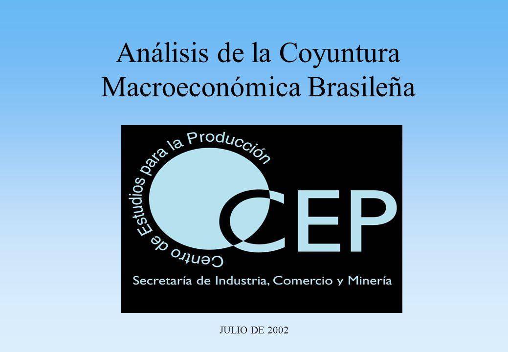 Análisis de la Coyuntura Macroeconómica Brasileña JULIO DE 2002