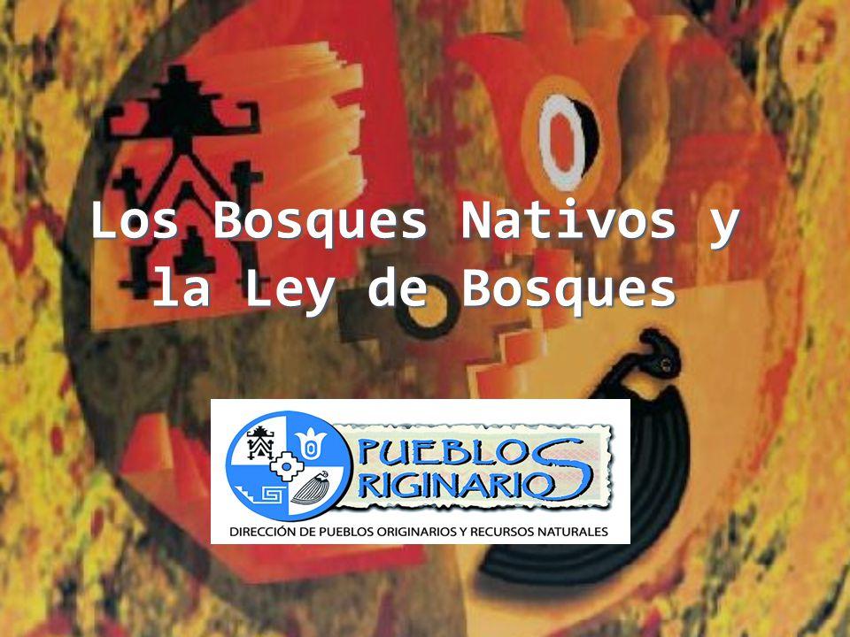 LEY Nº 26.331 DE PRESUPUESTOS MÍNIMOS DE PROTECCIÓN AMBIENTAL DE LOS BOSQUES NATIVOS Art.