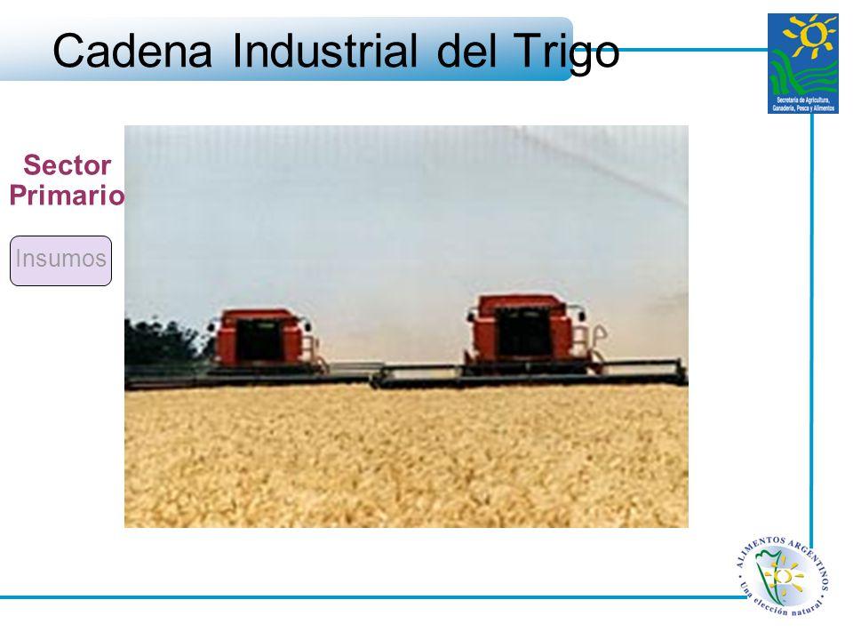 Cadena Industrial del Trigo Insumos Sector Primario
