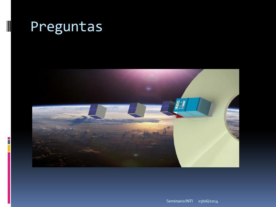 Preguntas 07/06/2014Seminario INTI