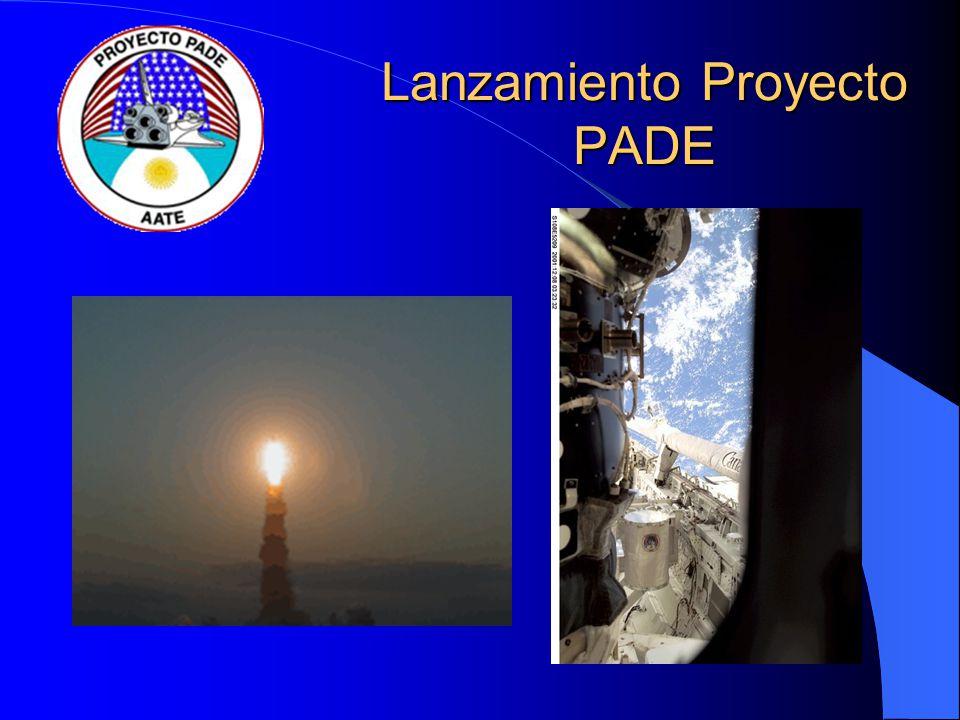 Lanzamiento Proyecto PADE