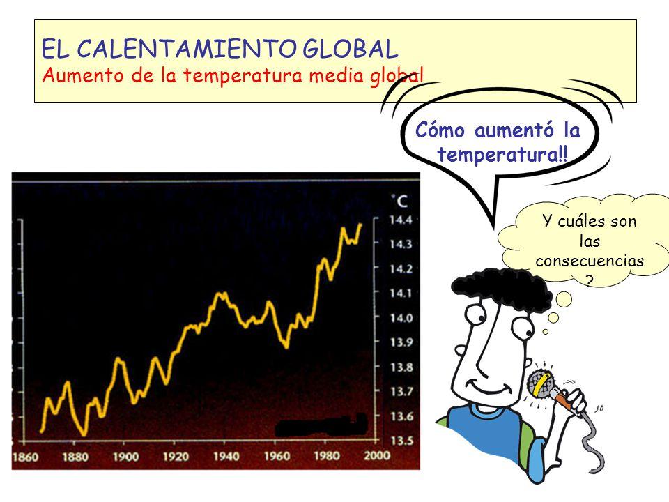 Algunos gases que producen efecto invernadero Dióxido de carbono 500 Quema de combustible fósiles, deforestación producción de cemento 1 Metano 7 - 10