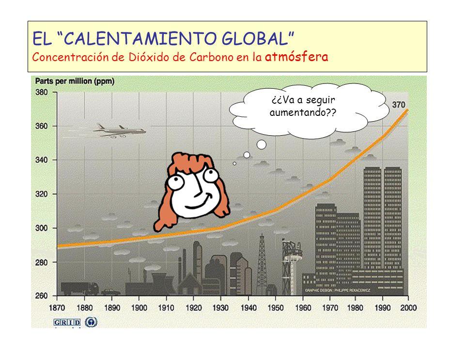 CAMBIO CLIMÁTICO El ciclo del carbono ENTONCES TENDRÍAMOS QUE CUIDAR A LOS BOSUES, PLANTAR MAS ARBOLES, Y CONTAMINAR MENOS, NO.