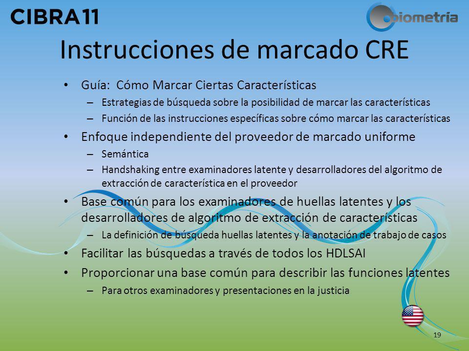 Instrucciones de marcado CRE Guía: Cómo Marcar Ciertas Características – Estrategias de búsqueda sobre la posibilidad de marcar las características –